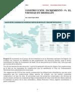 1. IMPUESTO A LA CONSTRUCCIÓN INCREMENTÓ 7% EL PRECIO DE LAS VIVIENDAS EN MEDELLÍN 01-02-2012