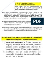 SEMANA 7 - NORMA JURÍDICA