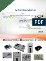 ABOV Semiconductor MDS 20100926
