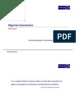 Nigerian Economics Fuel Subsidy 33
