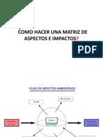 Matriz de Aspectos e Impactos[1]