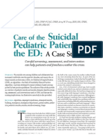 Care of the Suicidal Pediatric Patient in the ED .24