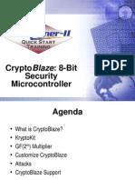 CryptoBlaze 8-Bit Security Micro Controller