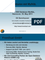 HA Architekturen mit MySQL