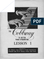 Cobbway Piano Syncopation Lesson 1 of 8