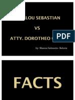 sebastian vs calis