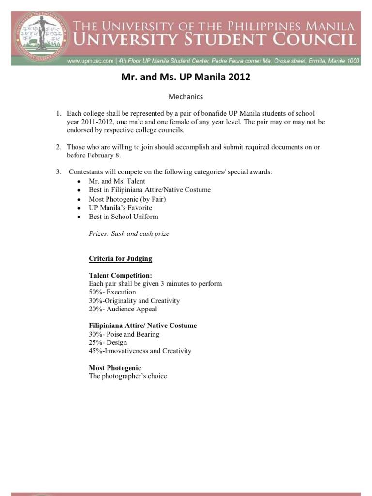 Mr ms up manila mechanics stopboris Gallery