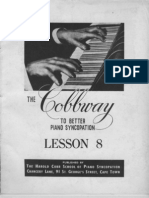 Cobbway Piano Syncopation Lesson 8 of 8