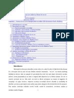 Factori de Succes in Managementul Unei Mici Afaceri in Domeniul Patiserie