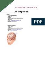 Brain Fingerprinting Technology Abstract 1