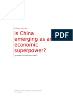 Report_Is China Emerging as a Superpower