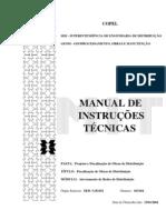 Copel-manual de instalações técnicas