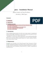 Installation Manual Eucalyptus