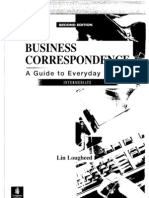 0130897922 Business Correspondence Guide