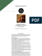 Grade School Basketball Rules South