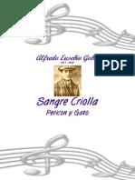 Alfredo Eusebio Gobbi-Sangre Criolla - Pericon y Gato-SheetMusicTradeCom