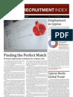 Cyprus Recruitment Index - GRS Jan 2011