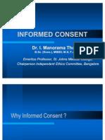 Informed Consent Manorama