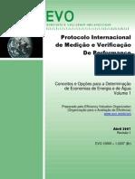 Protocolo de medição e verificação