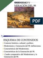 Modernismo y Generación del 98-3
