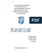 2do Plan de Clase Polinomios