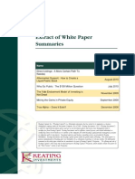 Extract of White Paper Summaries