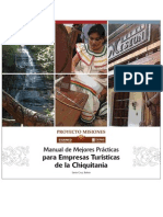 Manual de Mejores Prácticas para Empresas Turisticas