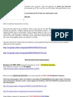----- Lista de Materiais Ponto Dos Concursos 26-09-2011
