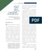 Chauca, Elementos de análisis de redes empresariales