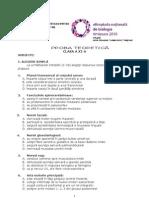 2010 Biologie Etapa Nationala Subiecte Clasa a XI-A 1