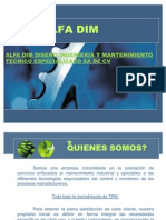 Alfa-dim Junio 2011 Presentacion
