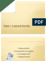 Maquetación