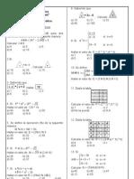 operadores Matematicos 6to