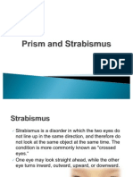 Prism and Strabismus
