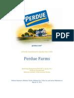 Perdue Foods Marketing Case Analysis