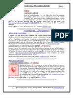 GSA Announcements Feb 7th 2012