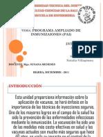 Progarama Ampliado de Inmunizaciones + Cadena de Frio