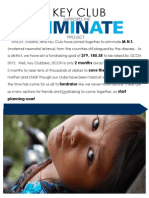 8 - The Eliminate Project Flyer