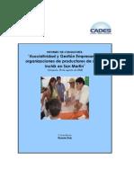 Asociatividad y Gestión Empresarial 1 - San Martín