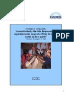 Asociatividad y Gestión Empresarial 2 - San Martín