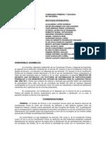 Decreto Factores de Distribucion 2011 Espacio