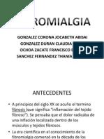 FIBROMIALGIA PRESENTACION