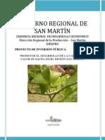 Promoción al Desarrollo del Sacha Inchi - San Martín