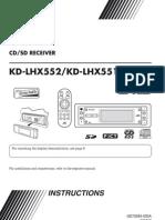 jvc kd-lhx551