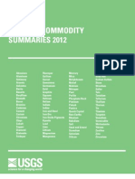 2012 Minerals Commodity Summaries