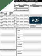 Ficha Em Branco (Excel)
