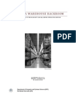 The Data Warehouse Backroom