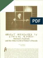 Absent Precences Nosferatu