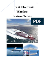 Space & Electronic Warfare Lexicon