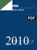 BILANCIO 2010 Fintecna (sigarette)
